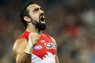Aussie Rules player Adam Goodes. Photo / Getty Images