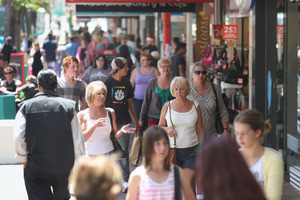 The state of the economy is a serious hindrance, said one third of small business survey respondents. Red tape was the biggest barrier to setting up. But 84pc said they'd do it all again. Photo / APN
