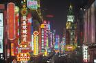 The bright city lights of Shanghai. Photo / Thinkstock
