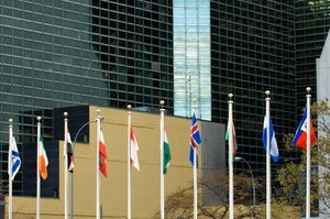 The UN in New York. Photo / Getty Images
