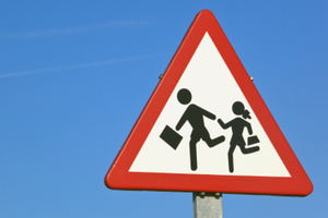 Picking up the kids from school can be more trouble than it's worth. Photo / Thinkstock