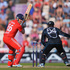 Graeme Swann of England is bowled by Kane Williamson. Photo / Getty Images
