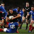 Israel Dagg makes a break during the first test match between the All Blacks and France. Photo / Getty Images