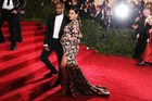 Kanye West and Kim Kardashian are expecting their first baby.Photo / AFP