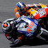 Spain's Jorge Lorenzo, left, overtakes second placed compatriot Dani Pedrosa on his way to win the Italian Moto GP, at the Mugello race circuit. Photo / AP