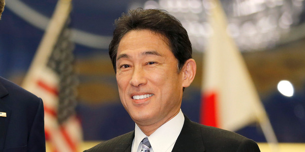 Japanese Foreign Minister Fumio Kishida. Photo / Getty Images