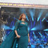 Florence Welsh from Florence and the Machine performs at The Sound of Change Live at Twickenham Stadium in London. Photo / AP