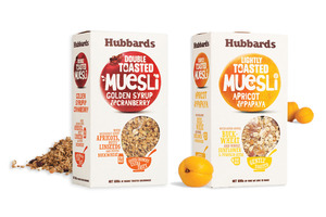 Hubbards markets its cereals as healthy and NZ-made.