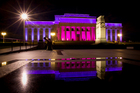 The Auckland War Memorial Museum put on a right royal show for the Queen's coronation anniversary. Photo / Sarah Ivey