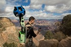 The narrow ridges and steep, exposed trails of the Grand Canyon provide the perfect terrain for Google's newest camera system. Photo / Supplied