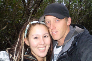 Andrea Harris and Kegan Myall met in Christchurch about six years ago through friends. Photo / Supplied