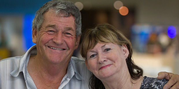 Paul White and his wife Joy. Photo / NZ Herald