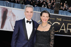 Rebecca Miller with husband Daniel Day-Lewis, who she first met when he starred in one of her father's plays, 'The Crucible'. Photo / Getty Images