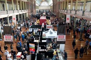 The Gabs (Great Australasian Beer Spectacular) festival in Melbourne. Beervana kicks off soon in Wellington.