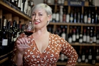 Wine enthusiast Yvonne Lorkin gets stuck into the oenological subject. Photo / Supplied