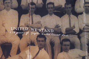 'United We Stand' 150 years of Grafton United Cricket Club by Richard Irving. Photo / Supplied