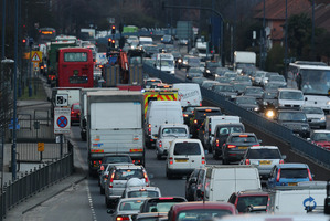 The British Government has increased fines for traffic offences. Picture/Getty Images