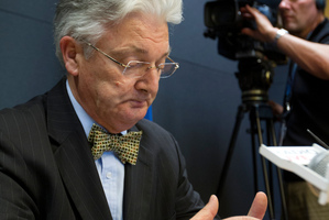 United Future leader Peter Dunne. Photo / Mark Mitchell