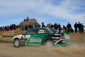 As well as the European Rally race in Ypres, Paddon and co-driver John Kennard are also back in the running with two rounds of the 2013 WRC-2 championship. Photo / Supplied