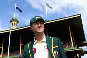 Michael Clarke of Australia. Photo / Getty Images