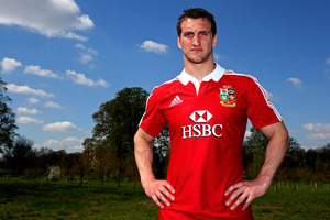 Sam Warburton says the Lions won't repeat Wales' near losses. Photo / Mark Mitchell