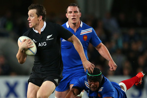 Ben Smith's quick reactions were on display again last night. Photo / Getty Images