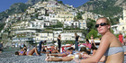Positano, on the Amalfi Coast, provides long summer days for basking in the sun. Photo / AP