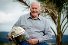 Brian Edwards served in the Auckland Fire Service for 49 years. Photo / Sarah Ivey