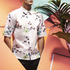 Designer Raf Simons has created an exclusive 13-piece collection for online luxury menswear store Mr Porter.com, inspired by grunge, nature and softness - we love the floral print. Photo / Supplied