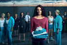 Danielle Cormack plays Bea Smith in the new Australian TV series 'Wentworth', a remake of the cult TV show 'Prisoner'. Photo / Supplied