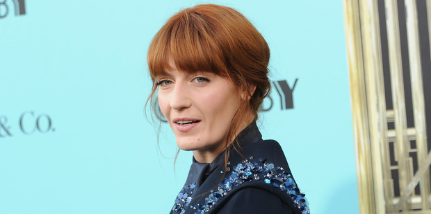 Singer Florence Welch of Florence + The Machine. Photo / AP