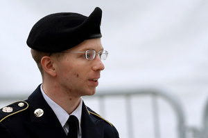 Bradley Manning. Photo / AP