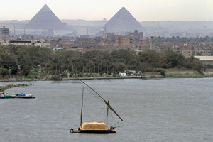 Egypt is using all of its share of the water - and the upstream countries are starting to use the water for irrigation, too. Photo / AP