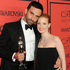 International Award honoree Riccardo Tisci and actress Jessica Chastain at the 2013 CFDA Fashion Awards. Photo / AP