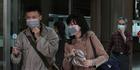 Taiwanese people wear masks at National Taiwan University Hospital in Taipei, Taiwan. Photo / AP