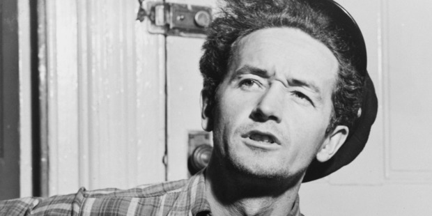 Woody Guthrie. Photo / AP