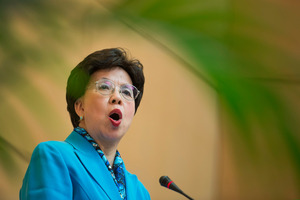 China's Margaret Chan, Director-General of the World Health Organization. Photo / AP