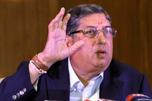Narayanaswami Srinivasan. Photo / AP