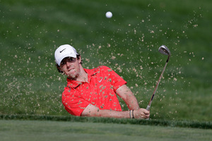 Rory McIlroy hopes to become just the sixth player to win back-to-back PGA Championships. Photo / AP