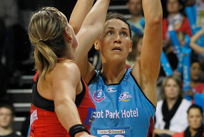 Jodi Brown (right) has played second fiddle to Jhaniele Fowler. Photo / Christine Cornege