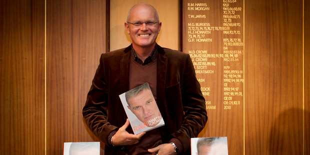 Martin Crowe goes into the raw details of his life in his new book. Photo / Natalie Slade