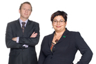 Green Party co leaders Russel Norman and Mitiria Turei. Photo / New Zealand Listener