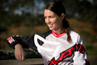 Sarah Walker has qualified for the finals in the USA BMX Nationals in Tennessee. Photo / Greg Bowker