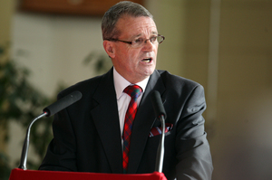 Labour MP for Manukau East Ross Robertson has announced his retirement. Photo / Ben Fraser