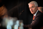 Air New Zealand chief executive Rob Fyfe at the airline company's 2011 annual meeting of shareholders. Photo / Natalie Slade