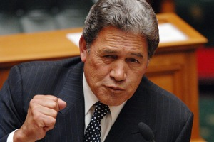 Winston Peters. Photo / NZPA