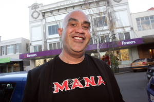Te Hamua Nikora says: 'We have to think of this in not so much a money way but in a Maori way.' Photo / APN