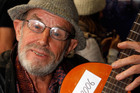 Sixty nine year-old singer guitarist Grant Goodwin. Photo / APN