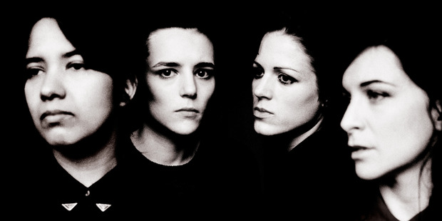 Savages, whose first album has had rave reviews, didn't intend to be an all-female band. Photo / Supplied