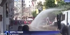 Watch:  Police deploy water cannon in Istanbul